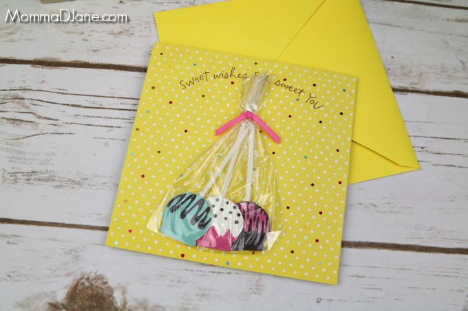 sweet wishes birthday card