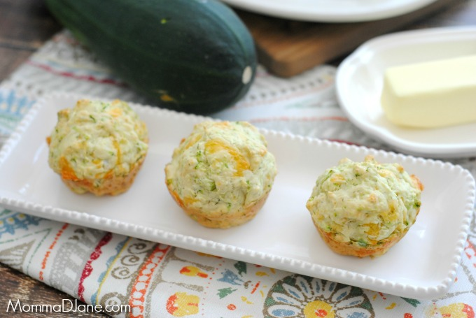 cheesy zucchini muffins recipe