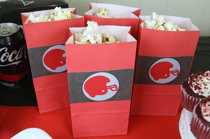 football-party-popcorn