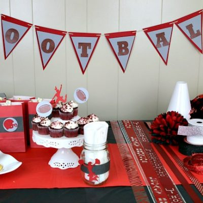 How To Host a Football Homecoming Mum Making Party