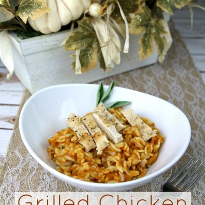 Grilled Chicken Pumpkin Marinara Recipe