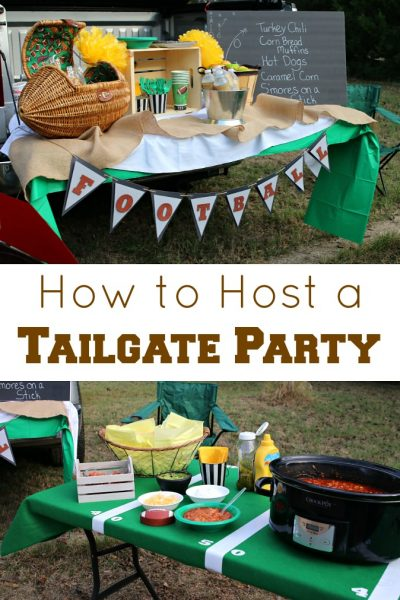 How to Host a Tailgate Party