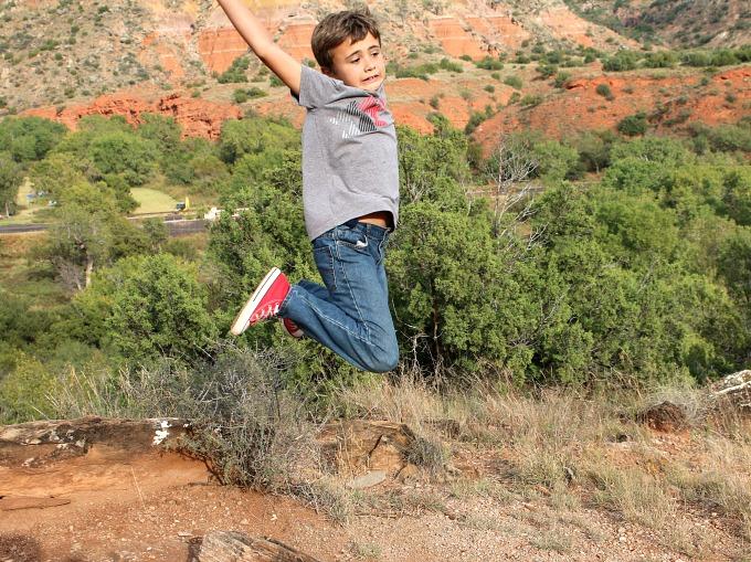 noah-jumping-at-palo-duro-canyon
