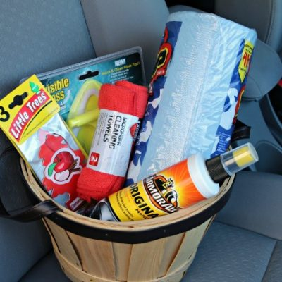 Car Cleaning Gift Basket – Gift Idea for a Car Lover