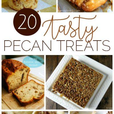 20 Tasty Pecan Treats