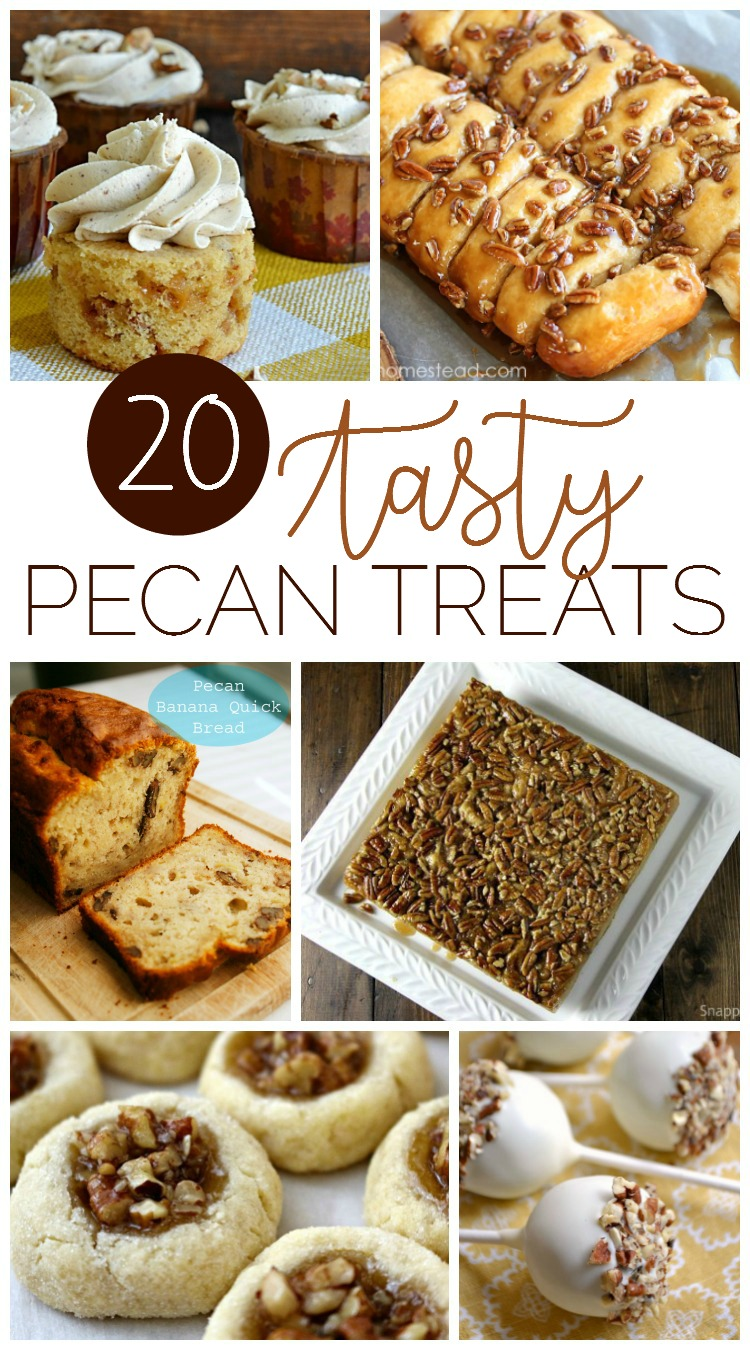20 Tasty Pecan Recipes