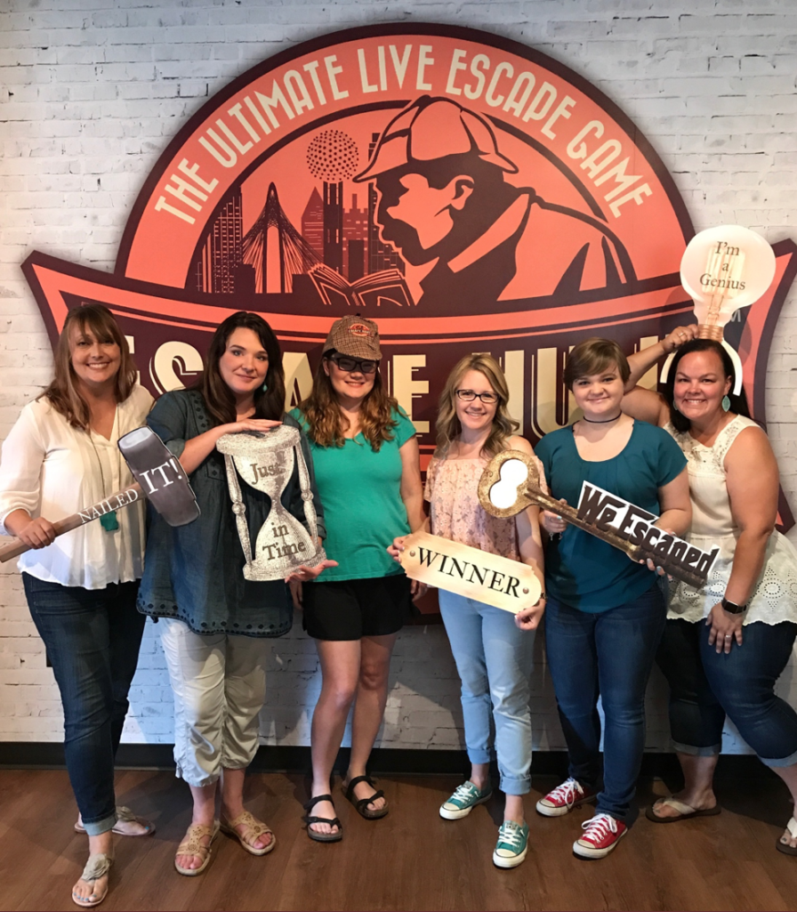 DFW Bloggers at Escape Hunt Dallas