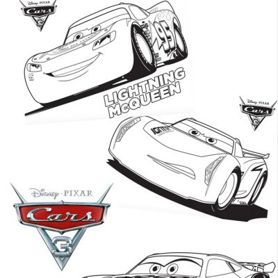 Disney Pixar Cars 3 Coloring Sheets – Free Printable