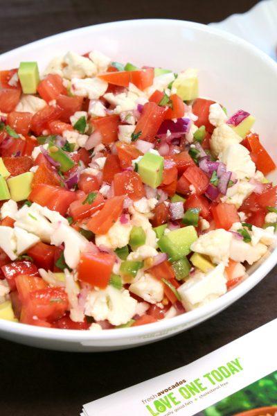 Avocado Ceviche Recipe + Party