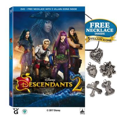 Disney Descendants 2 DVD Release + Free Necklace
