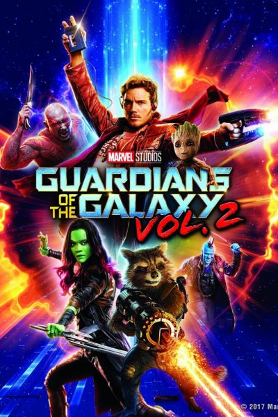 Marvel Studios Guardians of the Galaxy Vol. 2 on Bluray