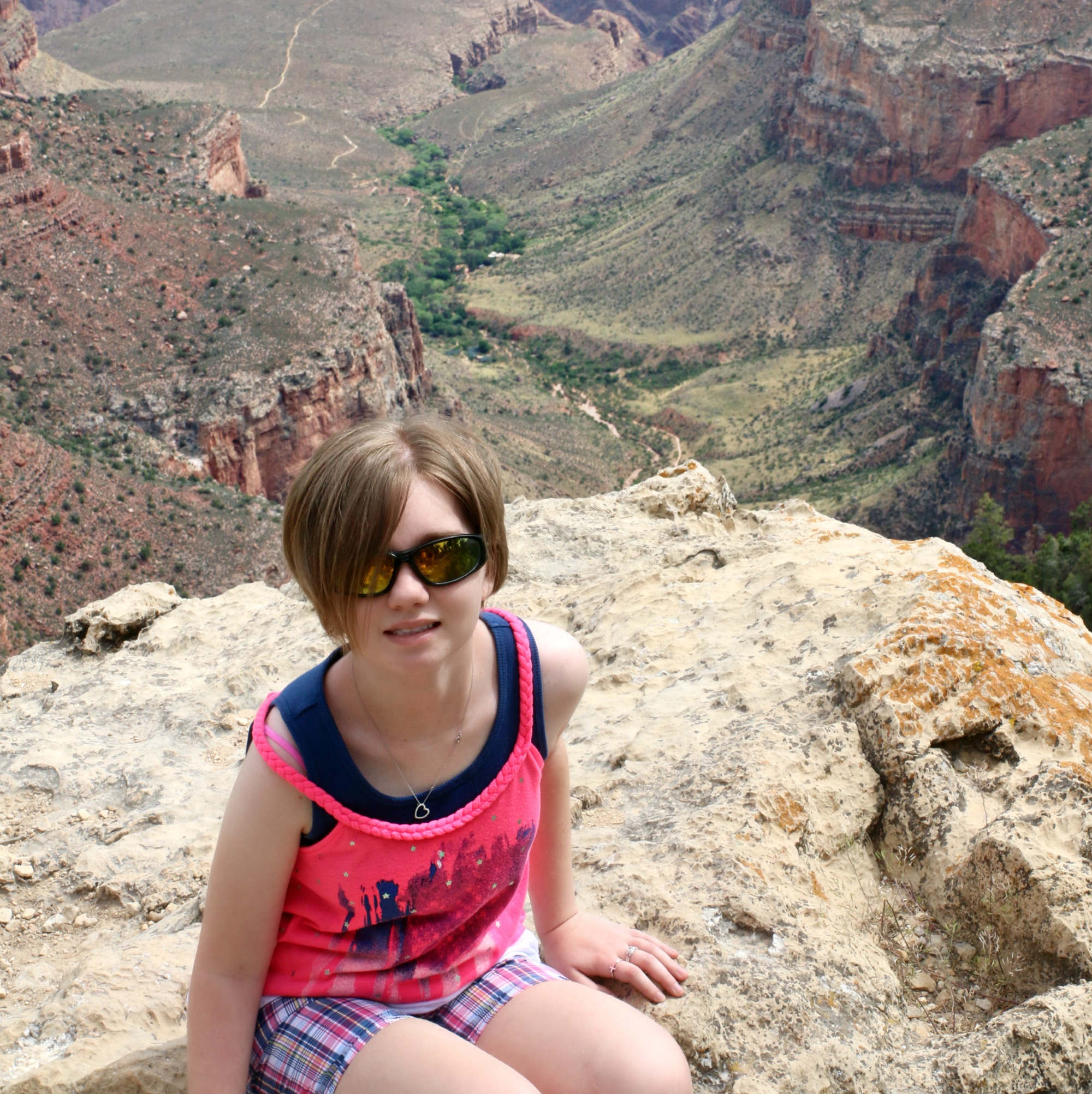Gabby in Grand Canyon