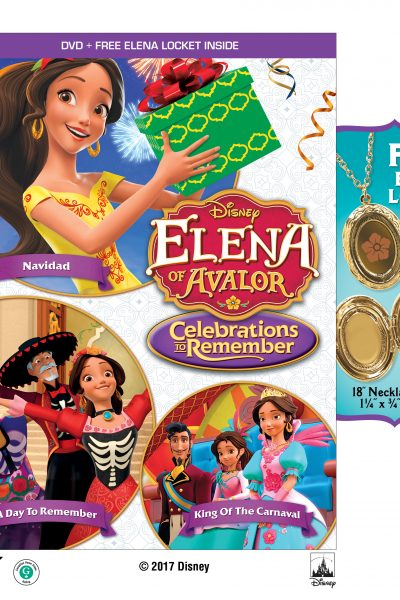 Disney Junior Elena of Avalor + Mickey Merry & Scary DVD Giveaway