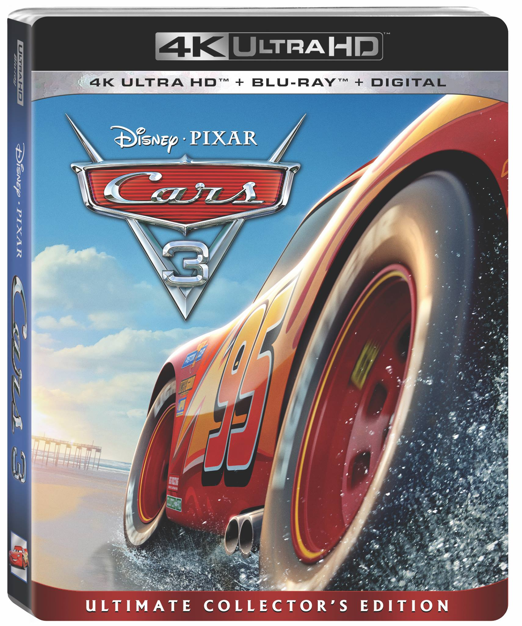 Disney Pixar Cars 3 Blurry