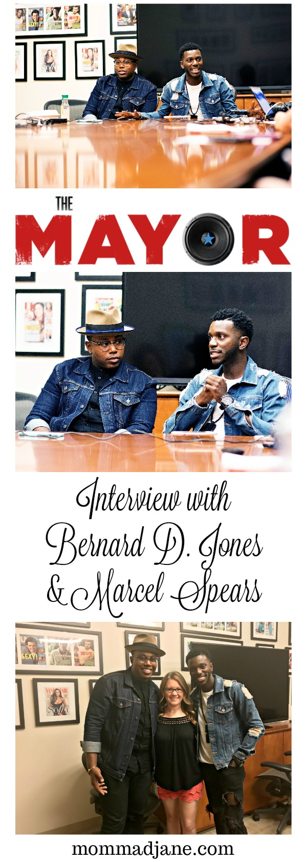 exclusive interview with Bernard D. Jones and Marcel Spears