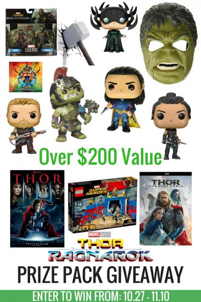 $250 Thor: Ragnarok Prize Pack Giveaway