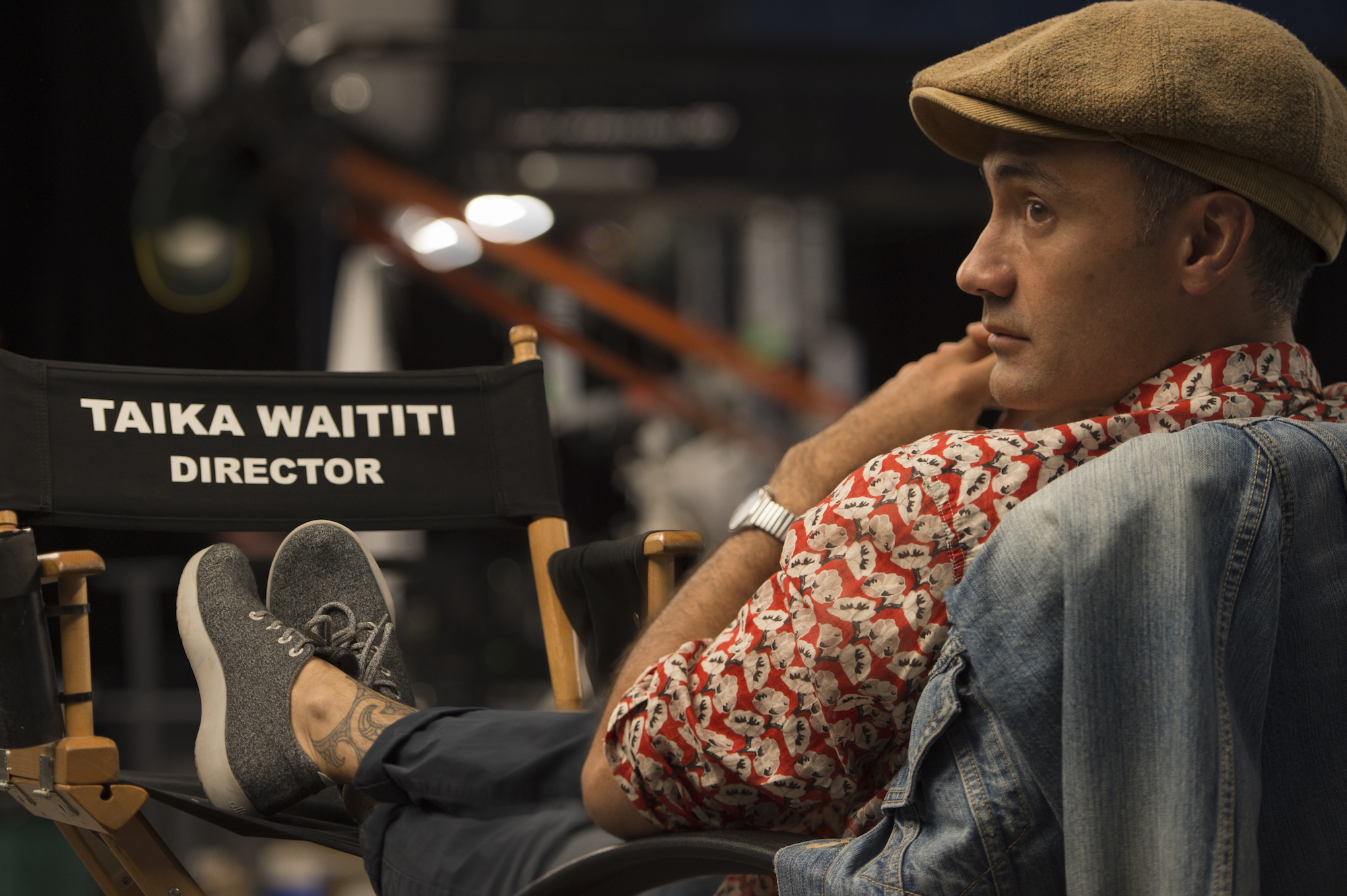 exclusive interview with Director Taika Waititi