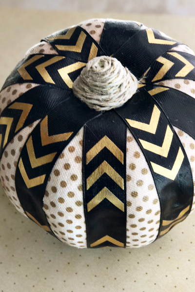 Dollar Store DIY: Craft Ribbon Pumpkin