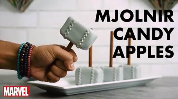 """Mjolnir Candy Apples"" Recipe"