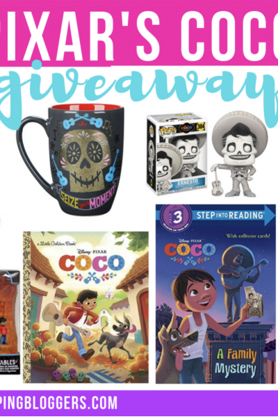 Pixar's Coco Movie Gift Pack Giveaway