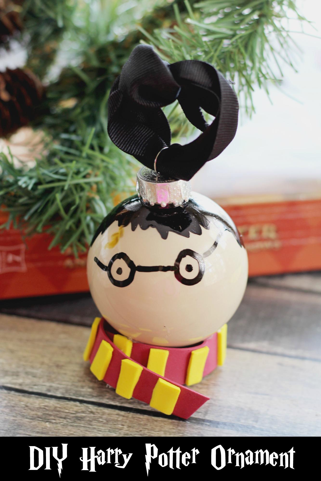 Diy Harry Potter Christmas Ornament Life Family Joy