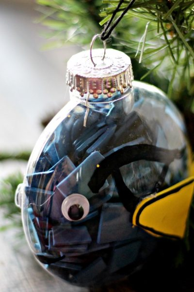 DIY Dory Christmas Ornament