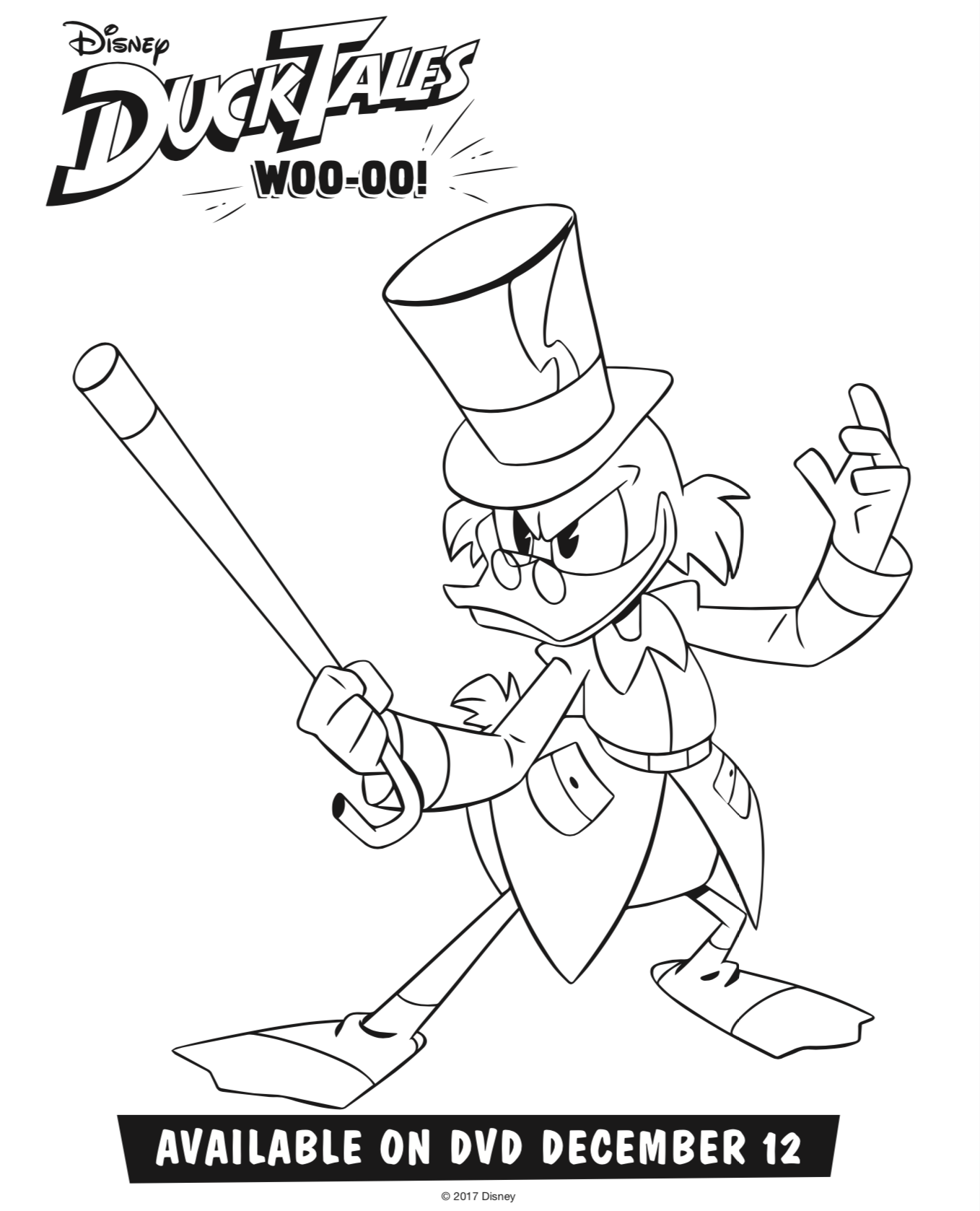 scrooge mcduck coloring pages - tangled the series queen for a day ducktales woo oo