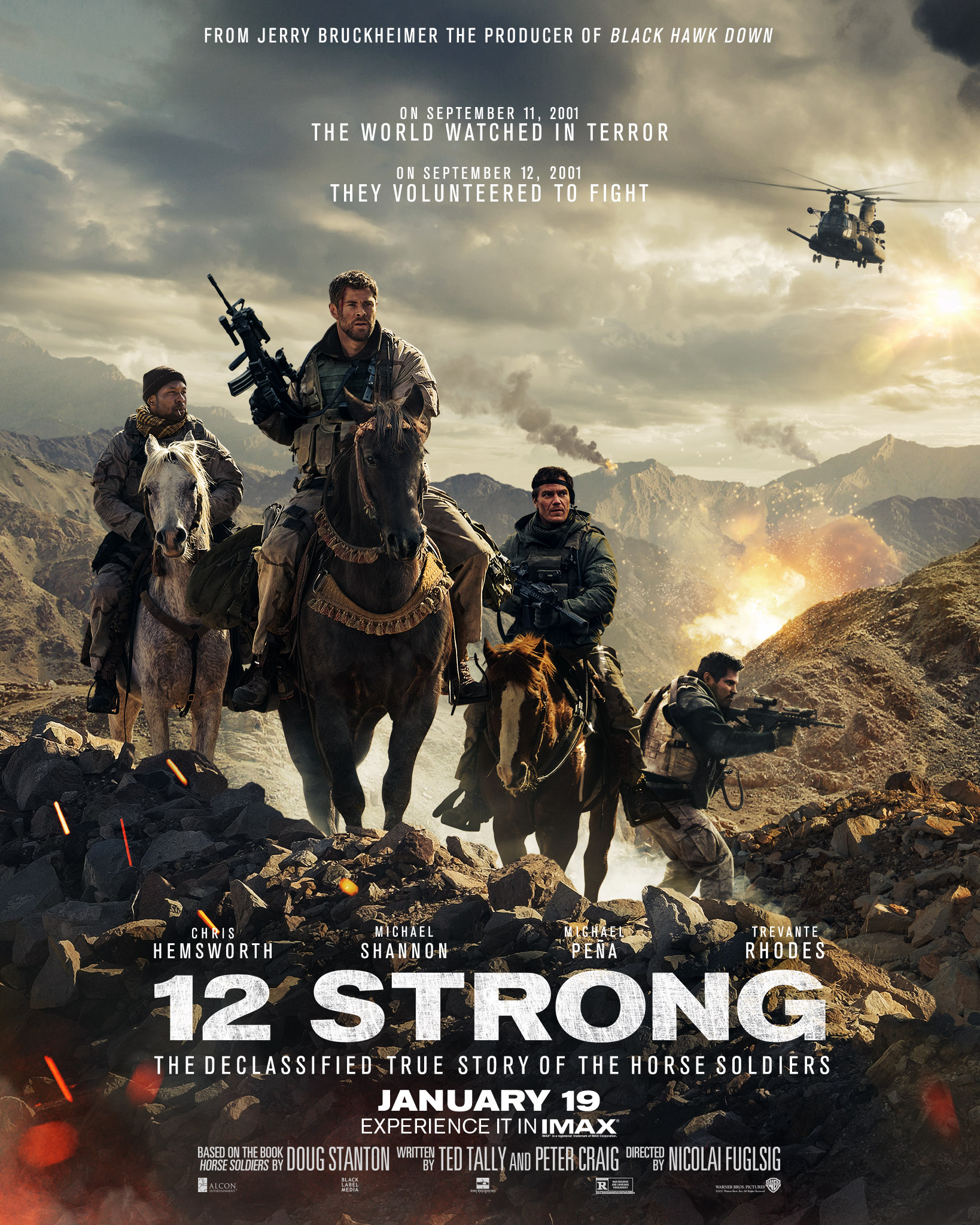 12 strong spoiler free movie review