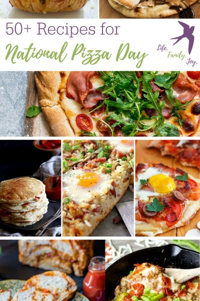 Celebrate National Pizza Day with 50+ Pizza Recipes