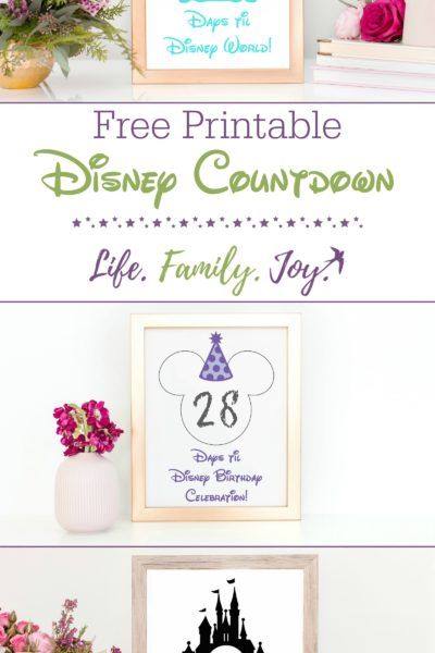 photograph relating to Disney Countdown Printable identify disney earth countdown printable Archives - Everyday living. Relatives. Contentment