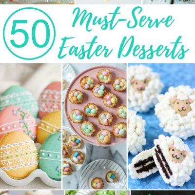 50 Must-Serve Easter Desserts