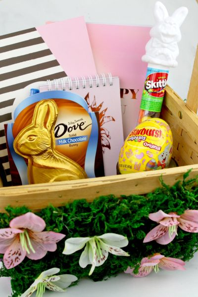 DIY Flower Easter Basket