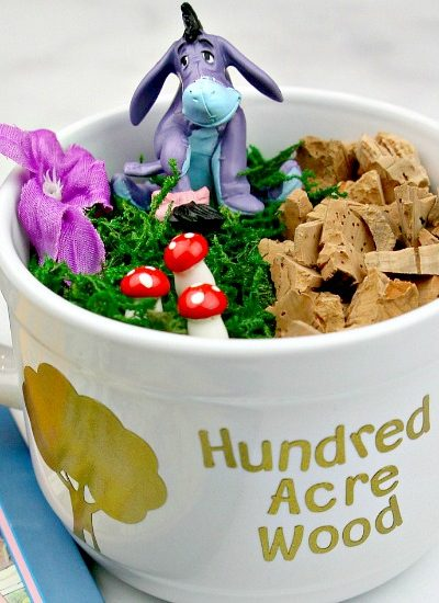 Hundred Acre Wood Teacup Garden – Dollar Store DIY