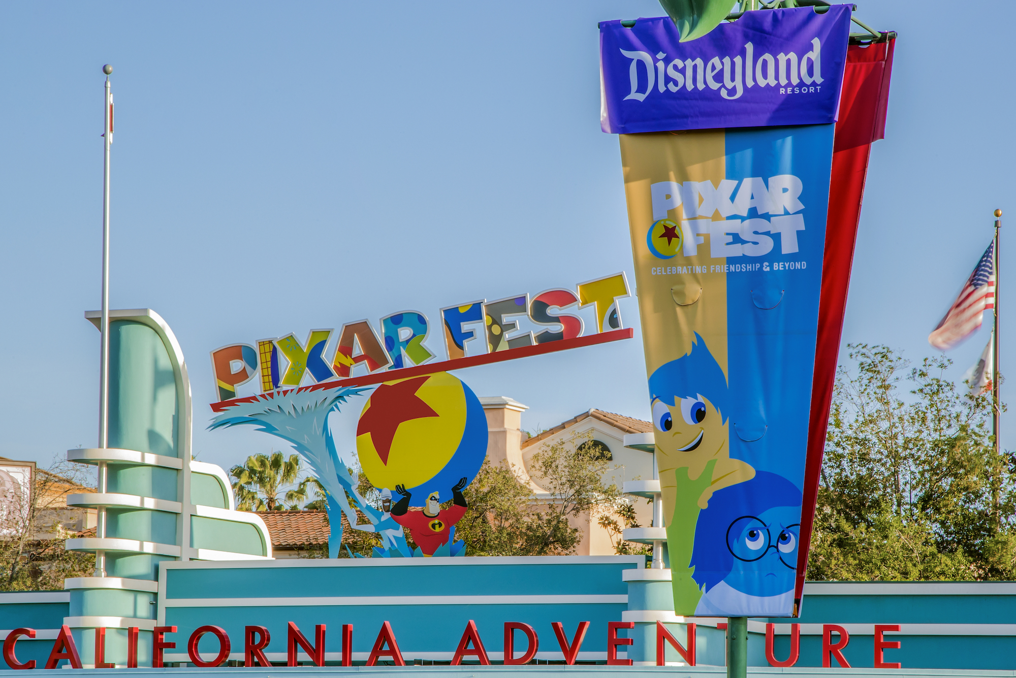 Pixar Fest in California