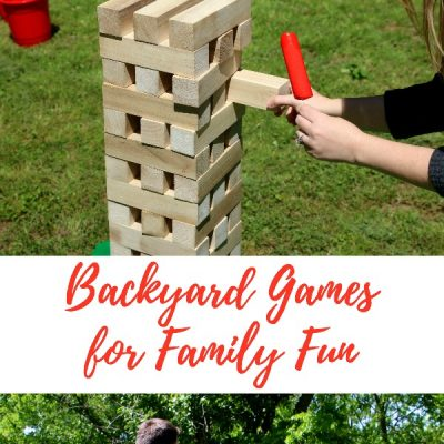 How to Set Up for Summer Backyard Games