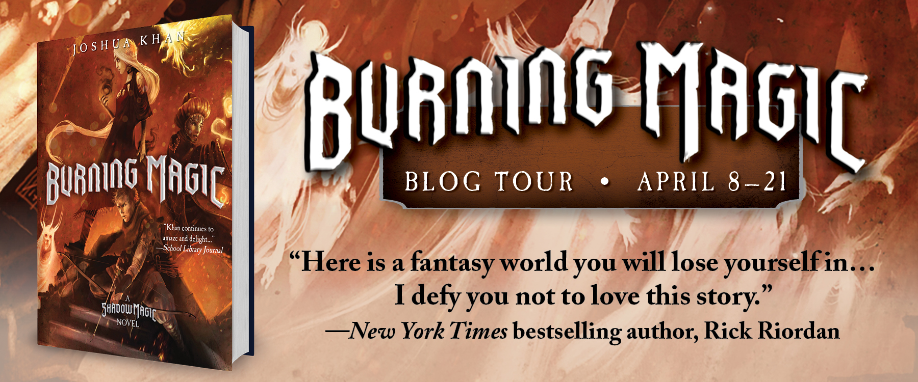 Burning Magic Book Tour