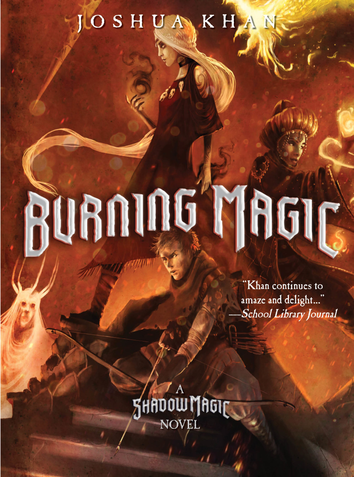 Burning Magic Children's Chapter Book