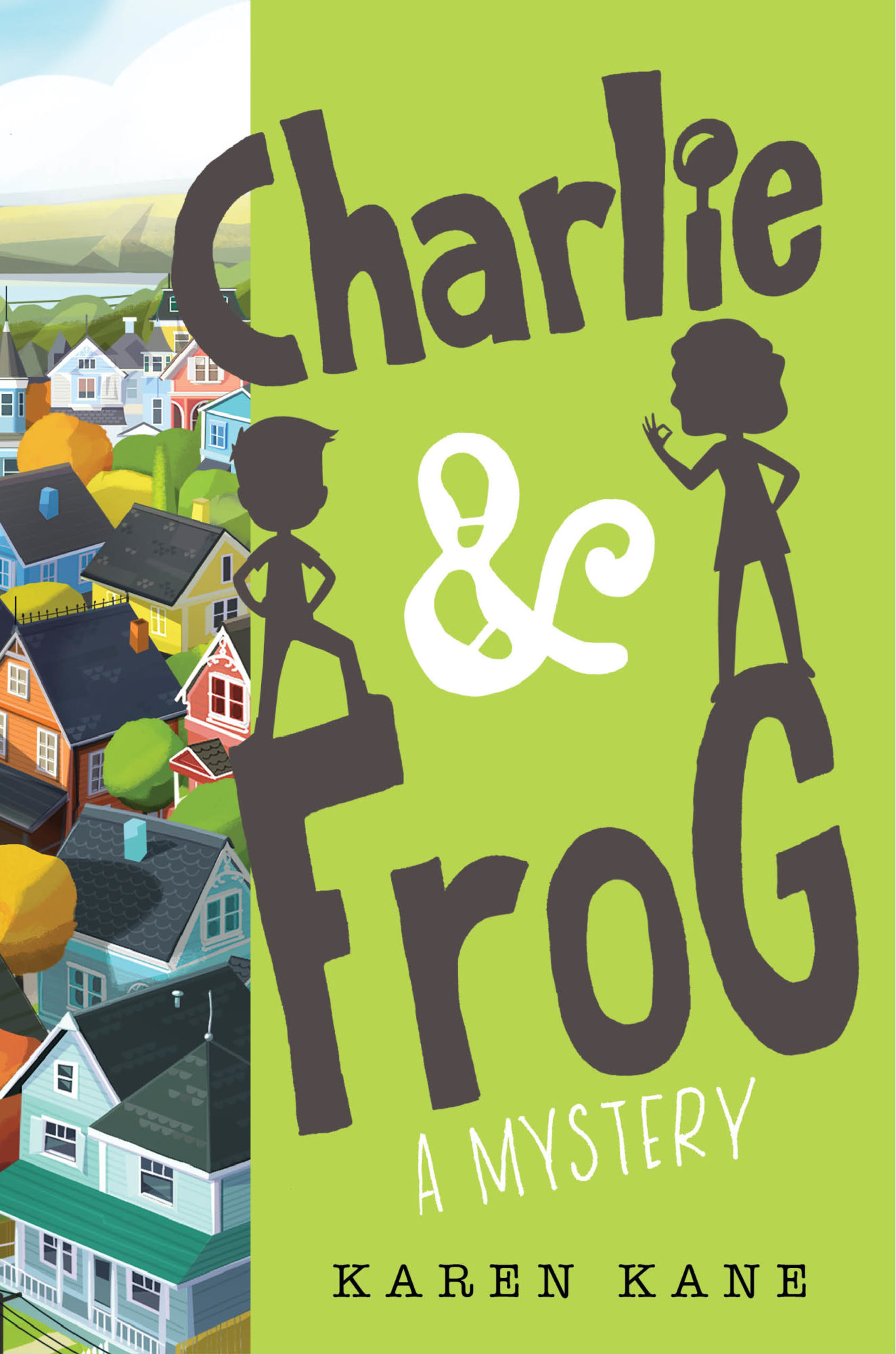Charlie & Frog Children's Mystery Book