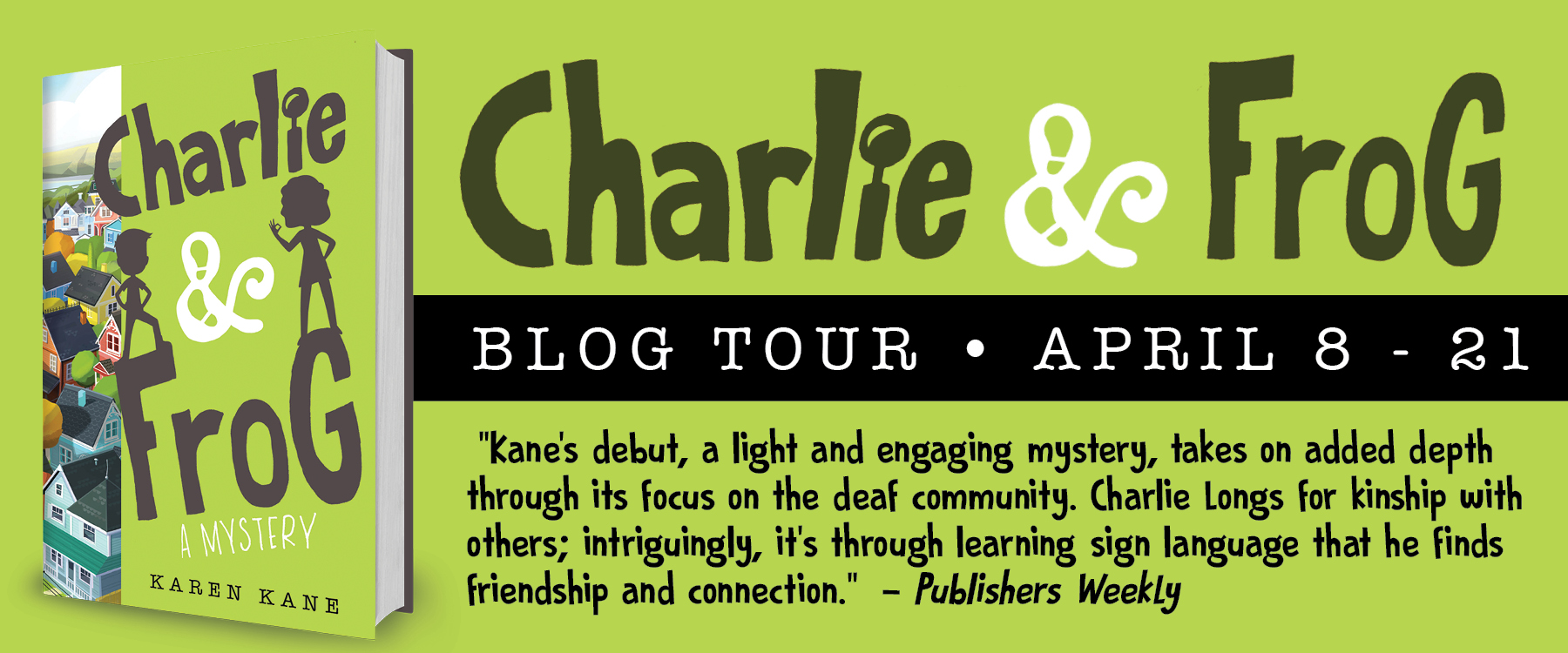 Charlie and Frog Book Tour