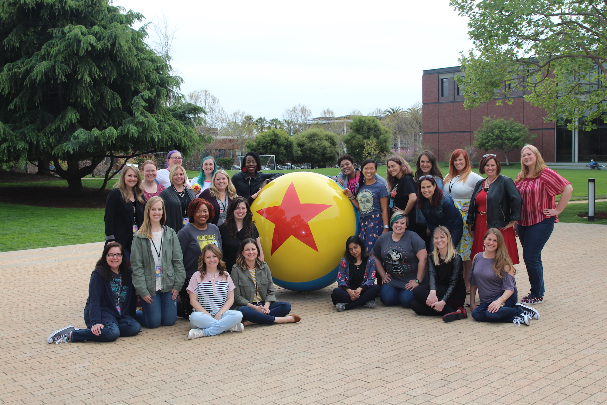 Touring Pixar Studios with Incredibles 2 Event Bloggers