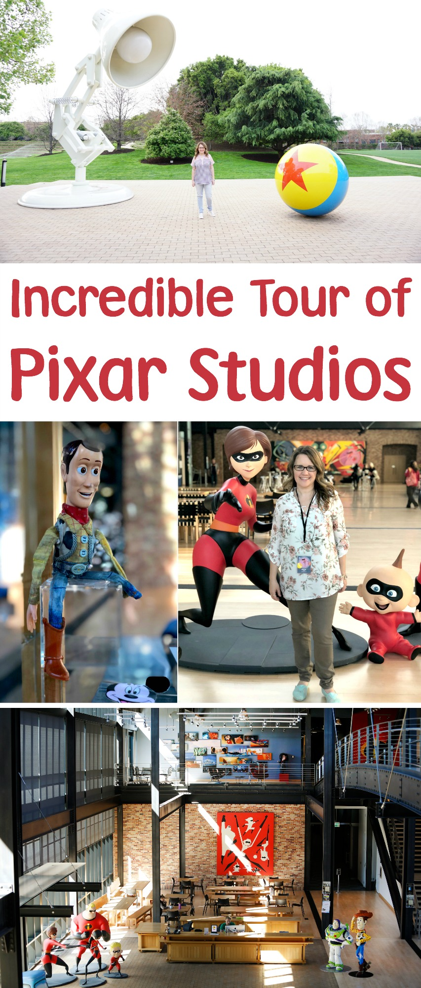 Incredible Tour of Pixar Studios