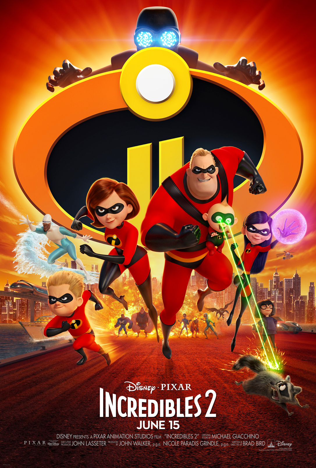 Incredibles 2 Movie Poster