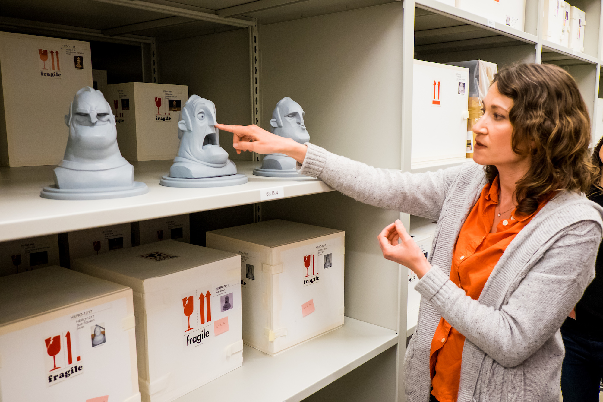 Learning from Manager of Pixar Archives