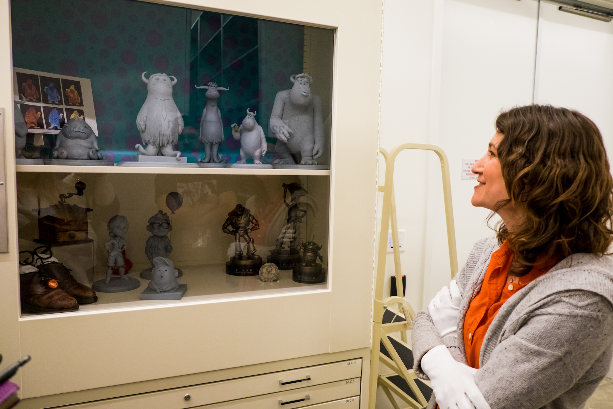 Inside look at Pixar Archives