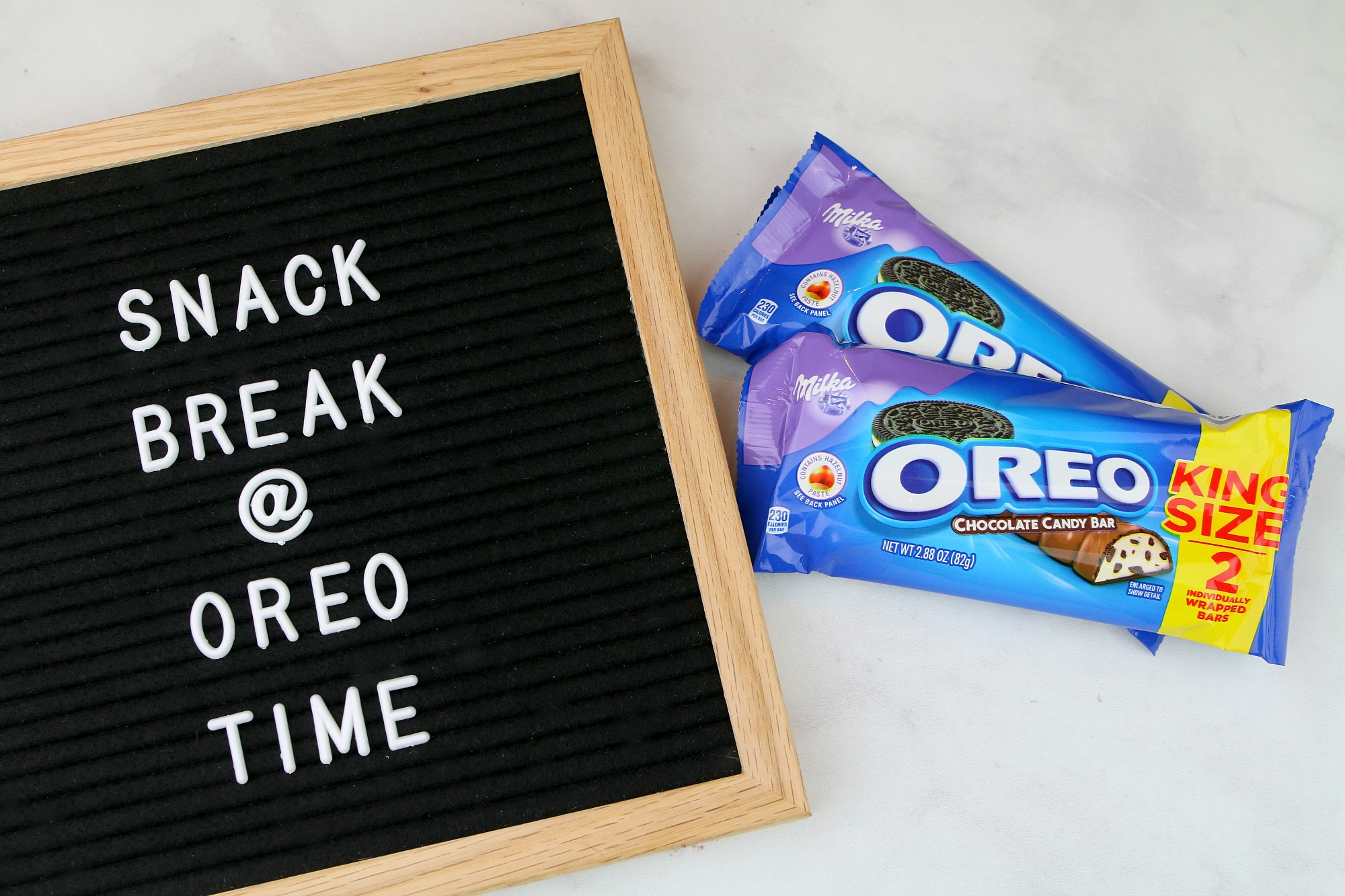 OREO Chocolate Candy Bar - Snack Time