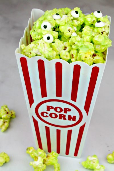 Pixar Toy Story Alien Chocolate Covered Popcorn Recipe