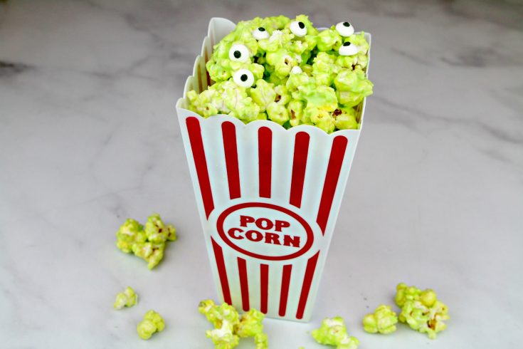 Toy Story Alien Chocolate Covered Popcorn Recipe