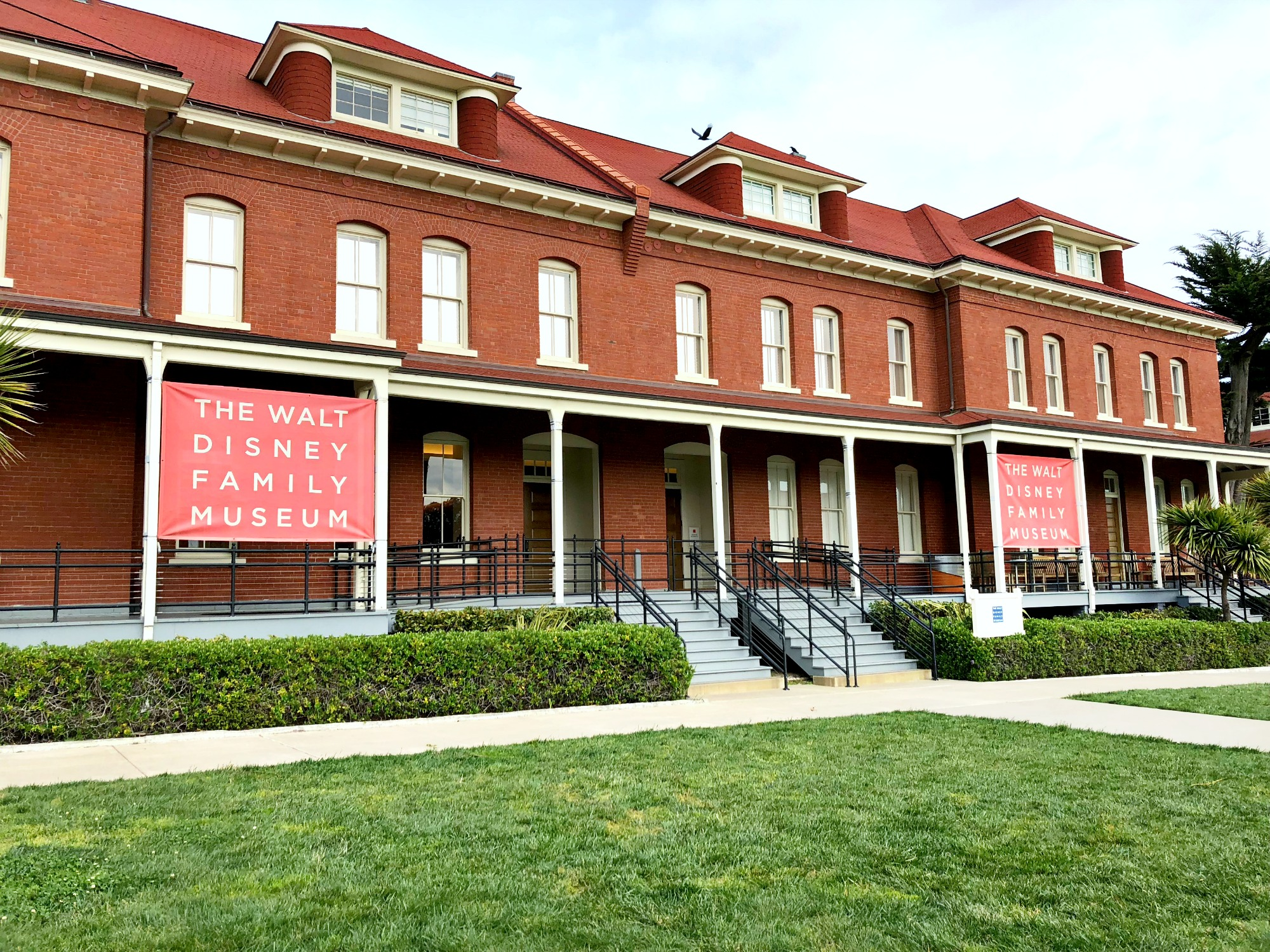 go on a tour of The Walt Disney Family Museum