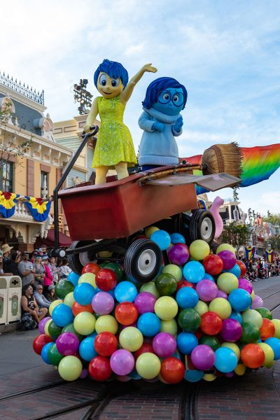 Inside Out Pixar Play Float