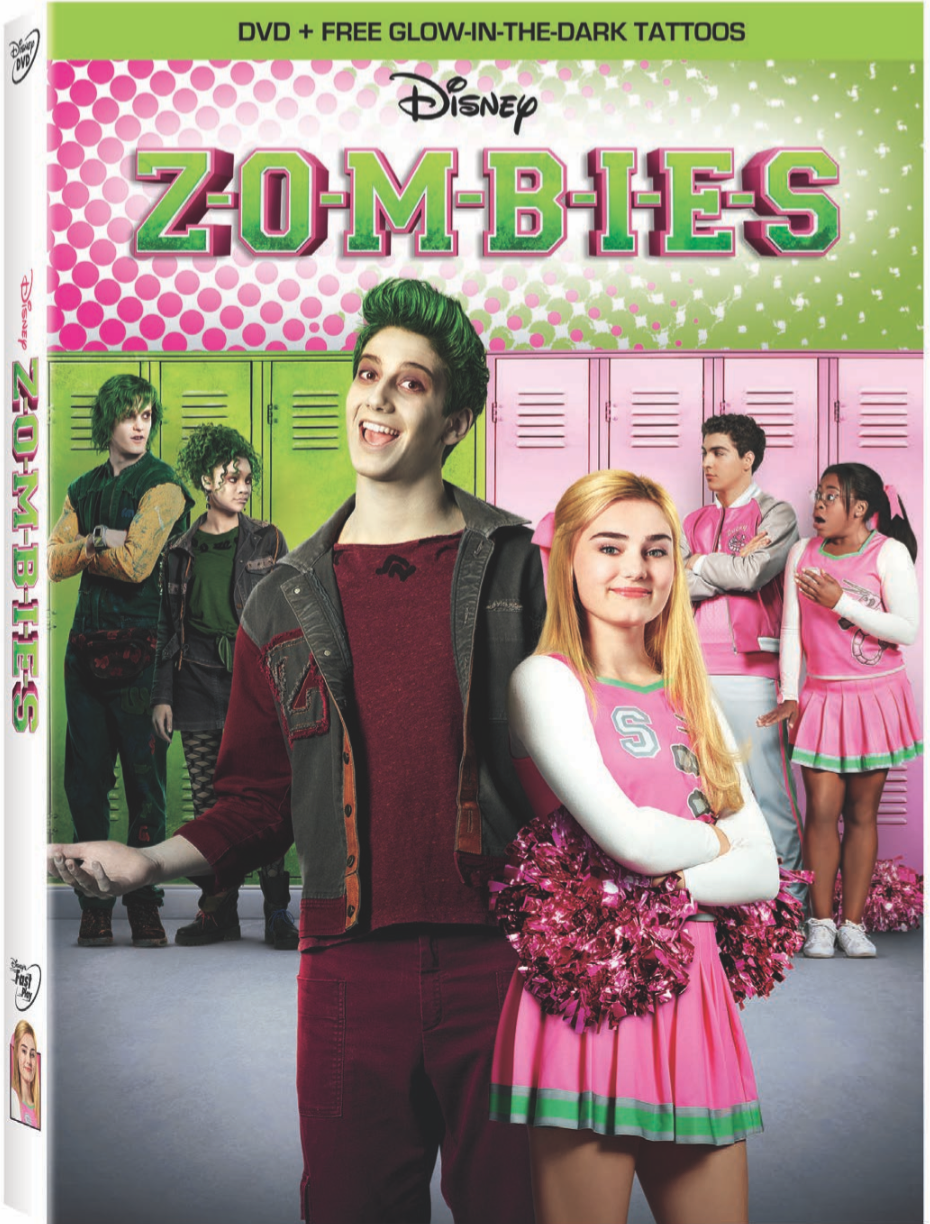 Disney's Zombies on Bluray